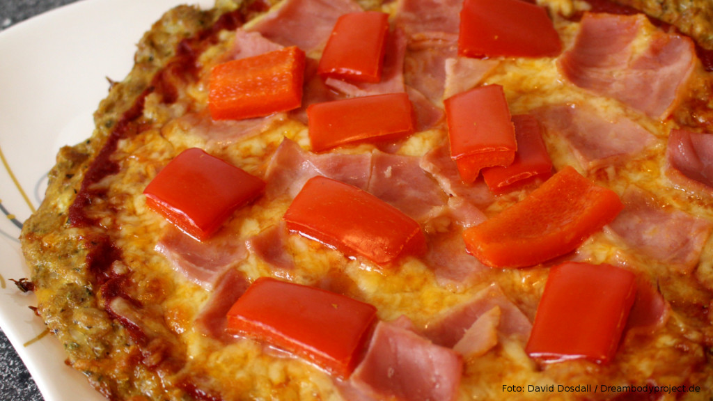 Low Carb Pizza Rezept